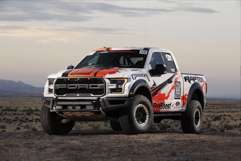 Nueva Ford Raptor 2017 con un aspecto mucho más rudo y poderoso - ford-raptor-2017-6