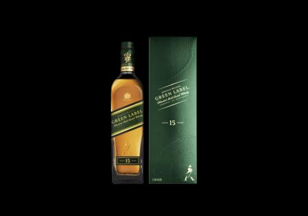 Johnnie Walker Green Label, está oficialmente de regreso en México