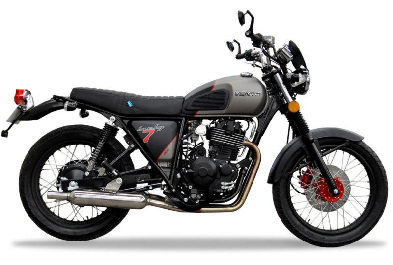 Vento presenta la nueva motocicleta Lucky7 400 Café Racer - lucky7-400-cafe-racer-vento-e1480366331663-800x541