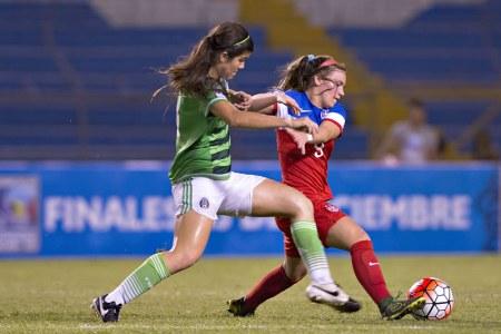 México vs Estados Unidos, Femenil Sub 20 2016 | Resultado: 1-2