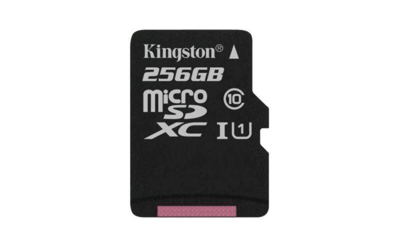 Kingston lanza tarjeta microSDXC Class 10 UHS-I con capacidad de 256GB - microsdxc-class-10-uhs-i-256gb