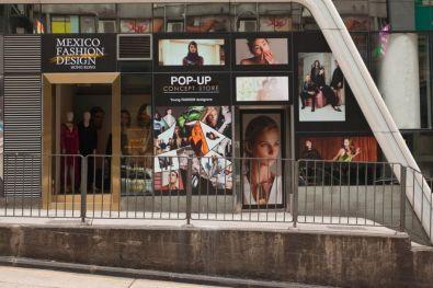 Mexico Fashion Design Hong Kong: impulsa a diseñadores mexicanos al mercado asiático - pop-up-store-hong-kong