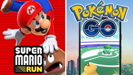 Super Mario Run gana en descargas a Pokemon GO
