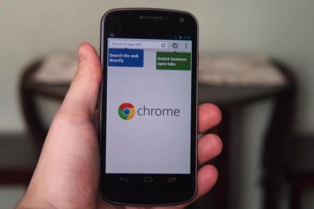 Actualización de Chrome permitirá descargar sitios web en Android