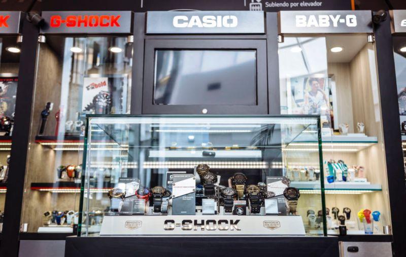 G-Shock abre su primera tienda en la Ciudad de México - g-shock-tienda-cdmx_2-800x507
