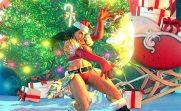 Street Fighter V recibe una actualización muy navideña - laura_holiday