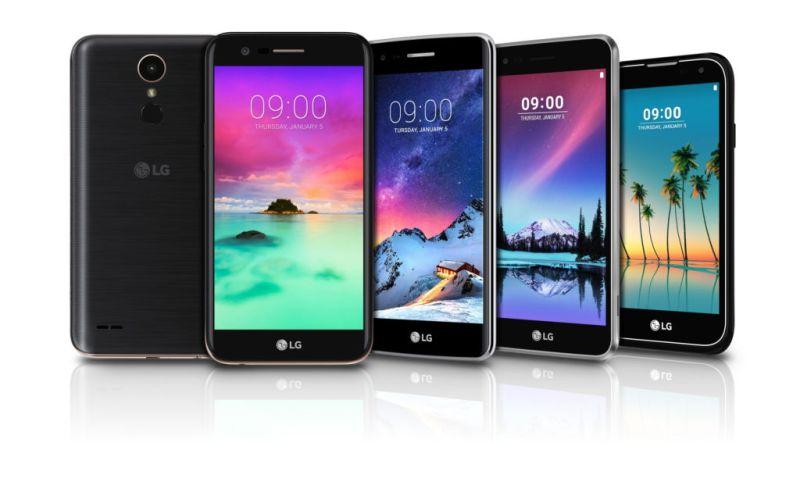CES 2017: LG presenta nuevos smartphones de la serie K y el Stylus 3 - lg-k-series