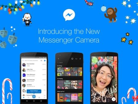 Messenger lanza nuevas funciones para la cámara, con máscaras 3D y efectos especiales