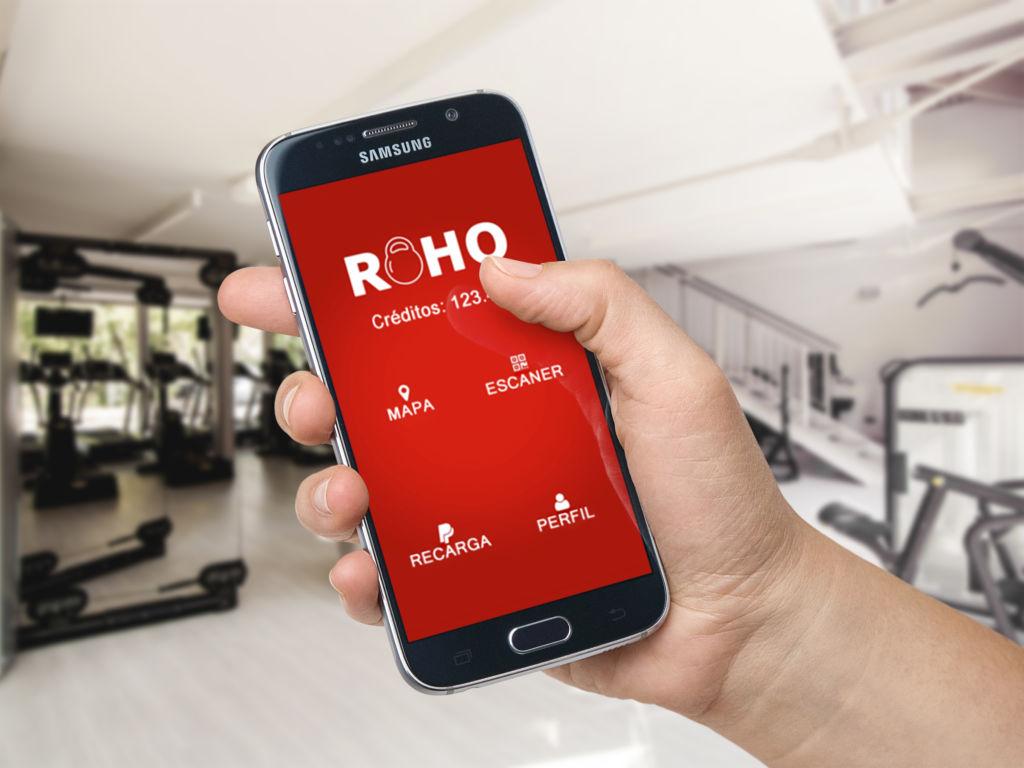 Roho Fitness App: te da acceso a muchos gimnasios a un solo precio - roho-fitness