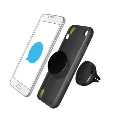 Zero Touch: app de control de voz para siempre tener las manos al volante - zerotouch-phone-and-mount-s5-black