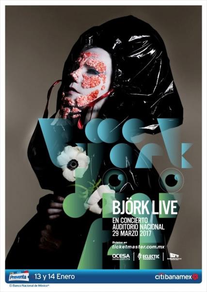 Björk vendrá a México en 2017 - bjork-live-en-mexico-2017