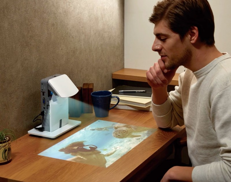 Casio desarrolla su concepto de proyector personal de tiro ultra-corto - casio-proyector-personal-2-800x630