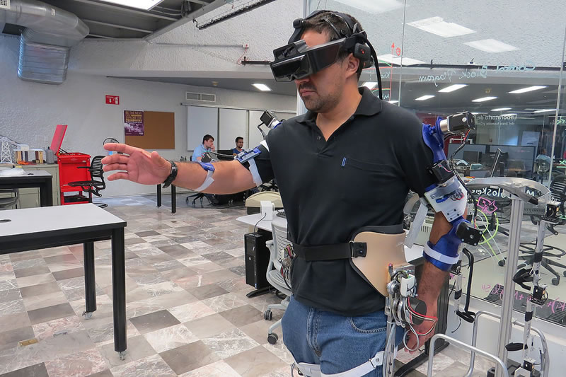 exoesqueleto inteligencia artificial Mexicanos añaden inteligencia artificial a exoesqueleto para mejorar su uso en rehabilitaciones físicas