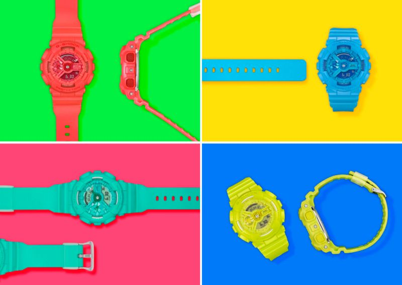 S Series Vivid Color la nueva colección de relojes para dama de G-Shock - gma-s110vc-visual_30cm