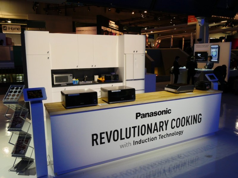 CES 2017: Panasonic gana un CES Innovation Award por su nuevo Horno de Inducción - horno-de-induccion-panasonic