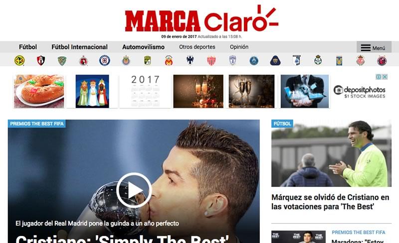 marca claro sports Claro Sports y MARCA buscan crear la mayor plataforma de información deportiva en LATAM
