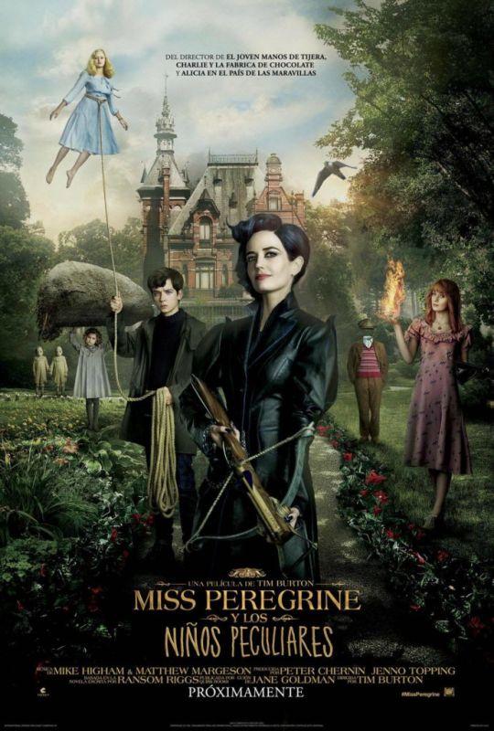 Ms. Peregrine y los niños peculiares ¡Ya disponible en Claro Video! - miss-peregrine-poster-540x800