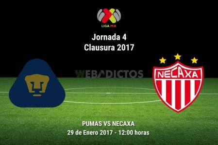 Pumas vs Necaxa, Jornada 14 del Clausura 2017 | Resultado: 3-1