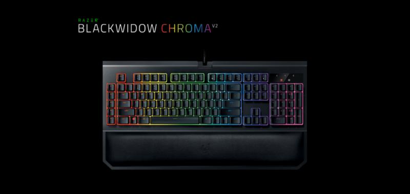 Razer renueva el teclado mecánico para juegos: Razer BlackWindows Chroma V2 - razer-blackwindows-chroma-v2-800x380
