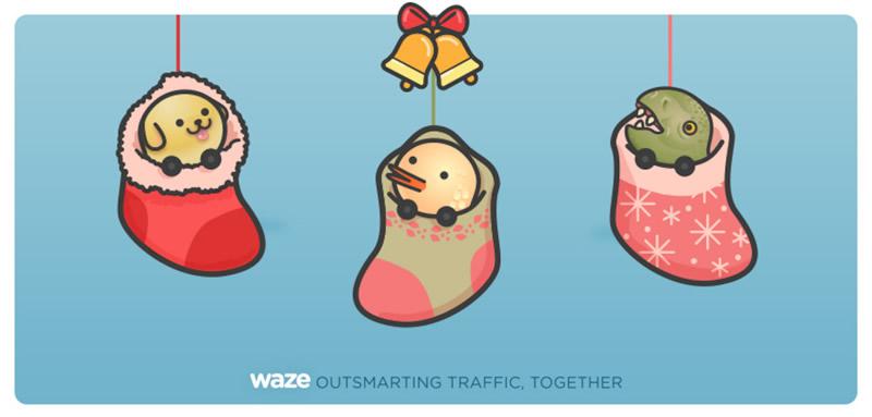 Waze guía a los Reyes Magos para encontrar mejores ofertas - waze-reyes-magos