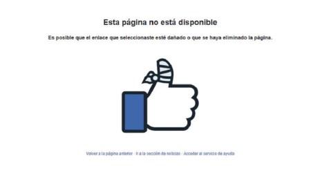 Usuarios reportan fallas de Facebook a nivel mundial