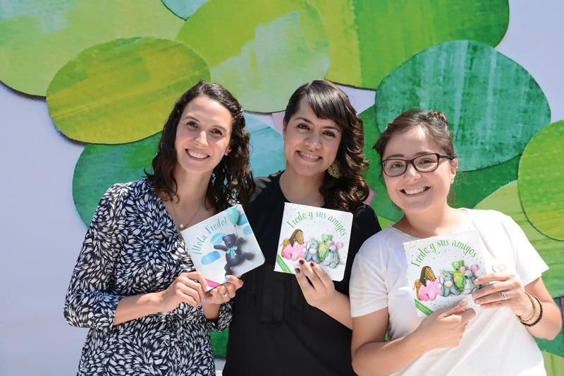 Fredo & Friends lanza su primera colección de cuentos - adriana-tellaeche_elsa-sanchez-e-irma-solano-800x533