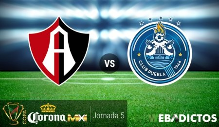Atlas vs Puebla, Jornada 5 de Copa MX Clausura 2017 | Resultado: 2-1