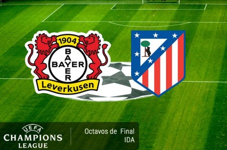 Bayer Leverkusen vs Atlético Madrid, Champions 2017 ¡En vivo por internet!