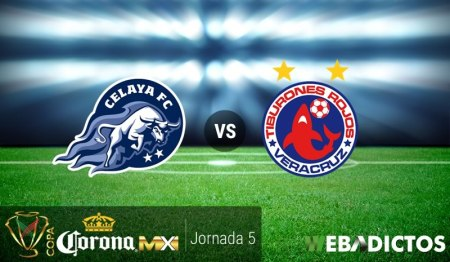 Celaya vs Veracruz, Jornada 5 Copa MX C2017 | Resultado: 1-1