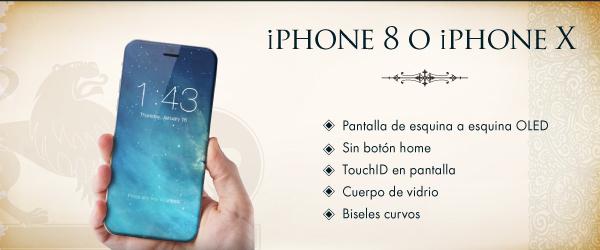 celulares 2017 2 titulo iphone8 Los celulares más esperados del 2017 según Linio