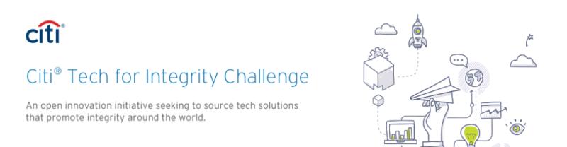 Citi anuncia Citi Tech for Integrity Challenge - citi-tech-for-integrity-challenge-800x208