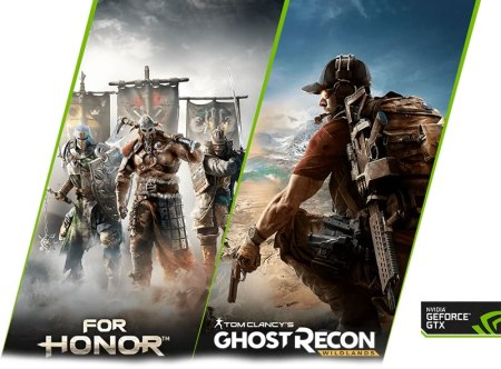 NVIDIa te regala For Honor o Tom Clancy's Ghost Recon Wildlands