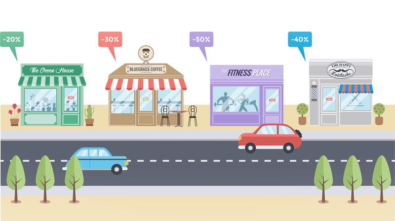 goodbarber negocios locales GoodBarber pone el foco en los Negocios Locales y el Marketing de Proximidad