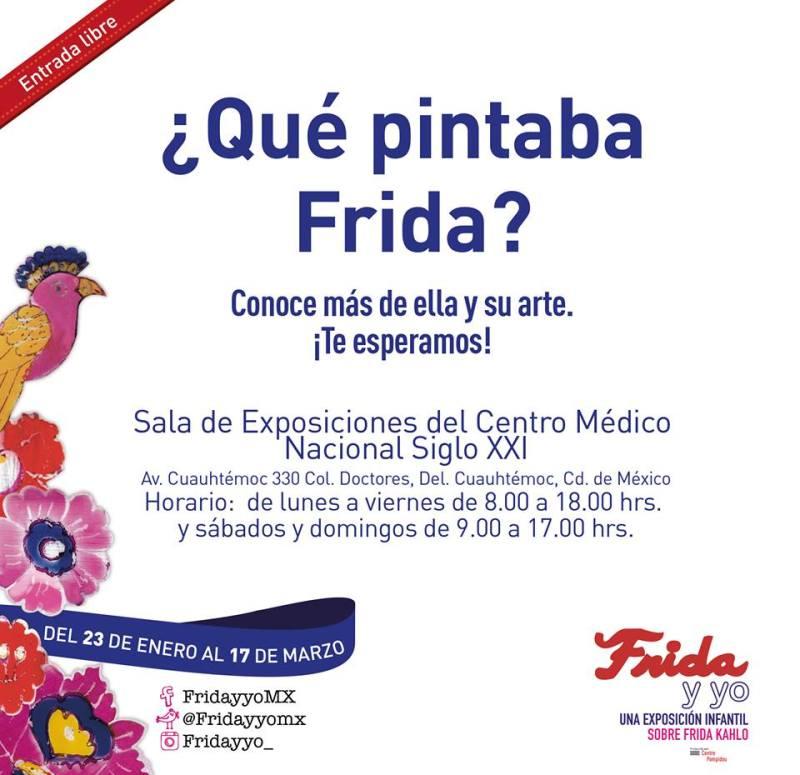 La exposición interactiva FRIDA Y YO llega a la Ciudad de México - invitacion-800x775