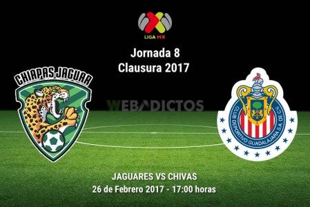 Jaguares vs Chivas, J8 del Clausura 2017 | Resultado: 4-3