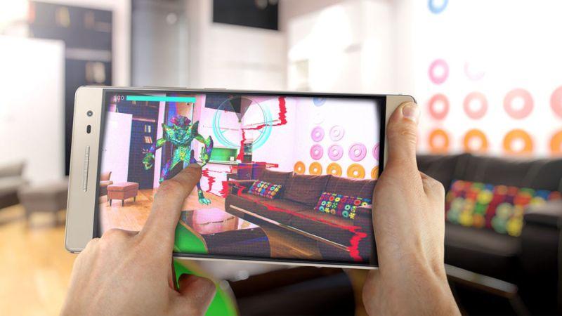 Lenovo Phab 2 Pro, el primer smartphone con realidad aumentada ya en México - lenovo-smartphone-phab-2-pro-games-4-800x450