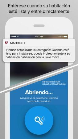 Marriott rediseña su aplicación Marriott Mobile para el viajero moderno
