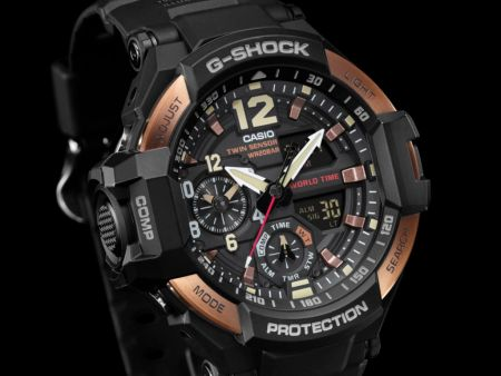 G Shock lanza Master of G Vintage Rose Gold, edición 2017