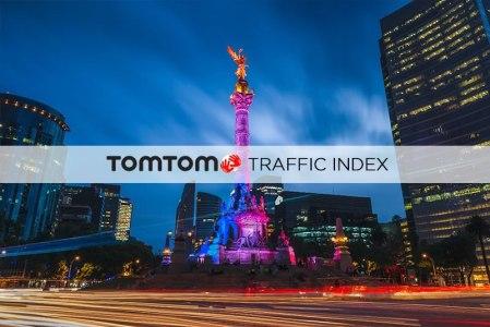 La Ciudad de México es la ciudad con más tráfico del mundo: TomTom Traffic Index 2017
