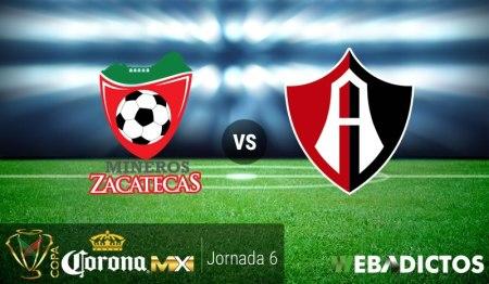 Mineros vs Atlas, Jornada 6 Copa MX C2017 ¡En vivo por internet!