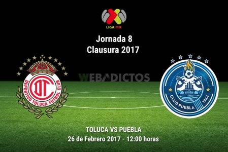 Toluca vs Puebla, Jornada 8 del Clausura 2017 ¡En vivo por internet!