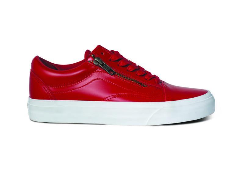 Lanzamiento de VANS is SideStripe con 6 modelos Premium - vans_rojo-800x562