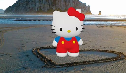 Hello Kitty para Actiongram: crea experiencias por medio de la realidad virtual - actiongram-hello-kitty