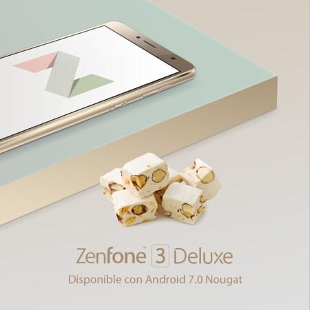 Android Nougat ya disponible para el Zenfone 3