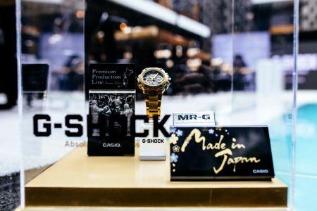 G-Shock presenta su línea de gama alta en la CDMX