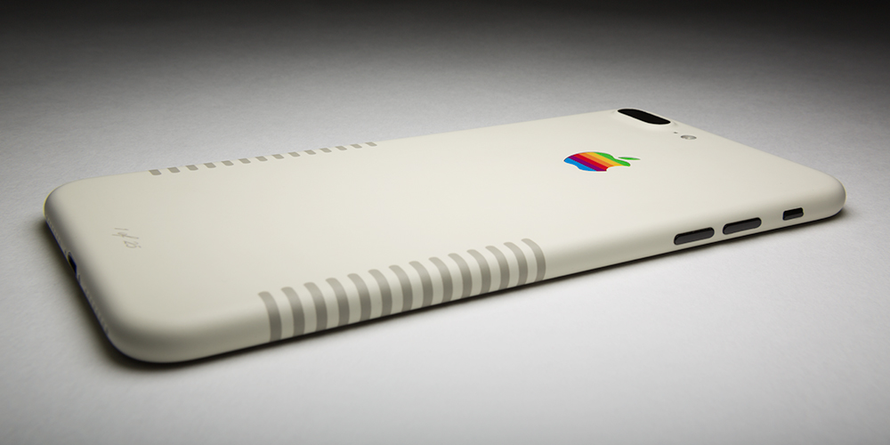 Colorware presenta un iPhone 7 Plus con diseño retro - iphone-7-plus-retro-edition