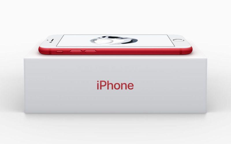 Lanzamiento del iPhone 7 y Plus (PRODUCT) RED en AT&T - iphone-7-y-iphone-7-plus-red-edicion-especial_2-800x498