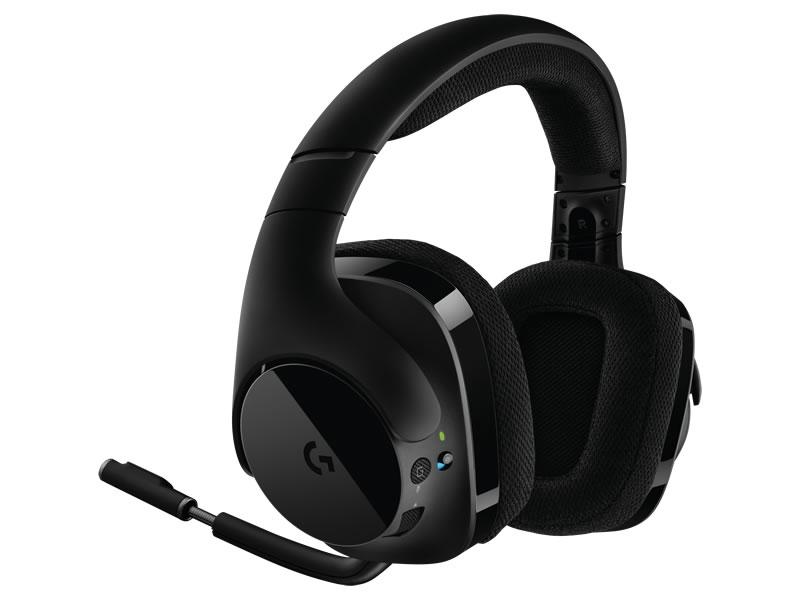 logitech g g533 audifonos inalambricos Logitech presenta sus auriculares inalámbricos para gaming Logitech G G533