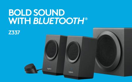 Logitech lanza sus primeras bocinas de escritorio con Bluetooth