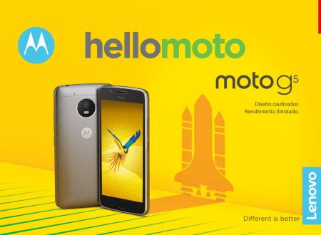 Moto G5 y Moto G5 Plus ¡Ya disponibles en México! características y precios